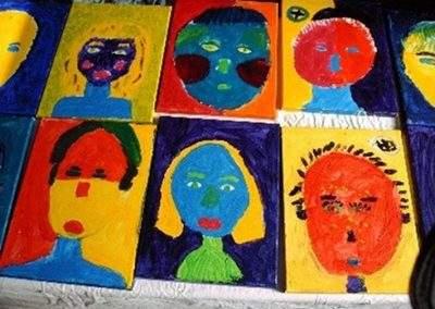 Workshop schilderen voor kids